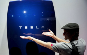 tesla power wall. Un'opera d'arte