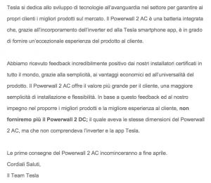 tesla powerwall2 AC